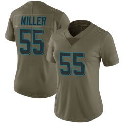 Shareef Miller Carolina Panthers Limited Women's 2017 Salute to Service Jersey (Green)