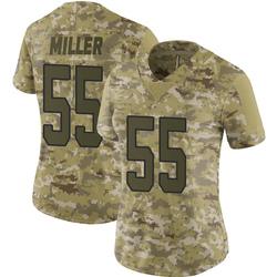 Shareef Miller Carolina Panthers Limited Women's 2018 Salute to Service Jersey (Camo)