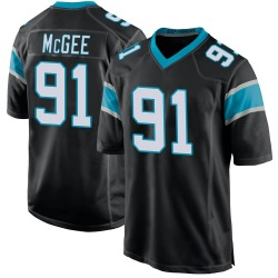Stacy McGee Carolina Panthers Game Men's Team Color Jersey (Black)