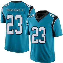 Stantley Thomas-Oliver III Carolina Panthers Limited Men's Alternate Vapor Untouchable Jersey (Blue)