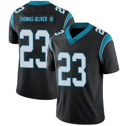 Stantley Thomas-Oliver III Carolina Panthers Limited Men's Team Color Vapor Untouchable Jersey (Black)