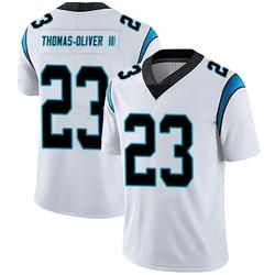 Stantley Thomas-Oliver III Carolina Panthers Limited Men's Vapor Untouchable Jersey (White)