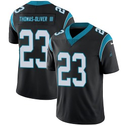 Stantley Thomas-Oliver III Carolina Panthers Limited Youth Team Color Vapor Untouchable Jersey (Black)