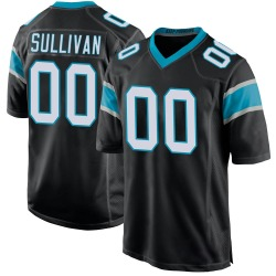 Stephen Sullivan Carolina Panthers Game Youth Team Color Jersey (Black)