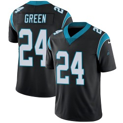 T.J. Green Carolina Panthers Limited Youth Team Color Vapor Untouchable Jersey (Black)