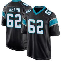 Taylor Hearn Carolina Panthers Game Men's Team Color Jersey (Black)