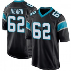 Taylor Hearn Carolina Panthers Game Youth Team Color Jersey (Black)