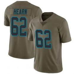 Taylor Hearn Carolina Panthers Limited Men's 2017 Salute to Service Jersey (Green)