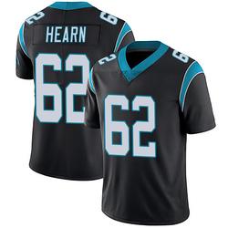 Taylor Hearn Carolina Panthers Limited Men's Team Color Vapor Untouchable Jersey (Black)