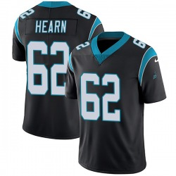 Taylor Hearn Carolina Panthers Limited Youth Team Color Vapor Untouchable Jersey (Black)