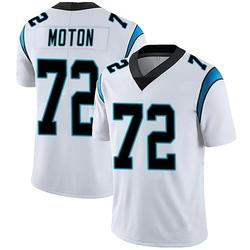 Taylor Moton Carolina Panthers Limited Men's Vapor Untouchable Jersey (White)