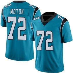 Taylor Moton Carolina Panthers Limited Youth Alternate Vapor Untouchable Jersey (Blue)