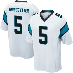 Teddy Bridgewater Carolina Panthers Game Men's Jersey (White)