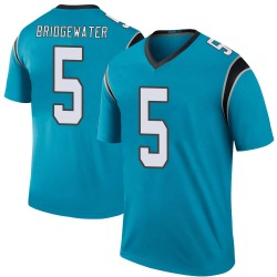 Teddy Bridgewater Carolina Panthers Legend Men's Color Rush Jersey (Blue)