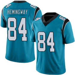 Temarrick Hemingway Carolina Panthers Limited Men's Alternate Vapor Untouchable Jersey (Blue)