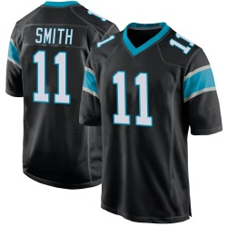 Torrey Smith Carolina Panthers Game Youth Team Color Jersey (Black)