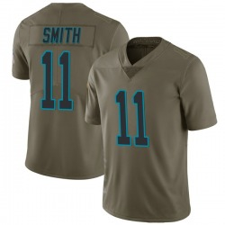 Torrey Smith Carolina Panthers Limited Youth 2017 Salute to Service Jersey (Green)
