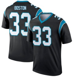 Tre Boston Carolina Panthers Legend Youth Jersey (Black)