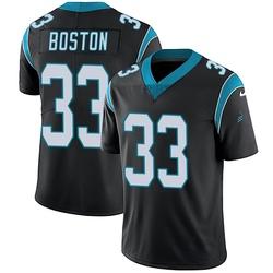 Tre Boston Carolina Panthers Limited Youth Team Color Vapor Untouchable Jersey (Black)