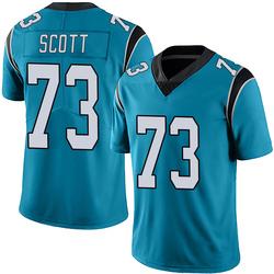 Trent Scott Carolina Panthers Limited Youth Alternate Vapor Untouchable Jersey (Blue)