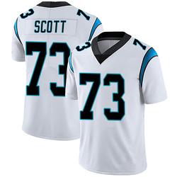 Trent Scott Carolina Panthers Limited Youth Vapor Untouchable Jersey (White)