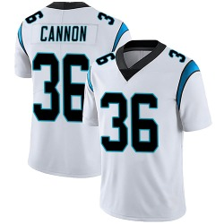 Trenton Cannon Carolina Panthers Limited Men's Vapor Untouchable Jersey (White)