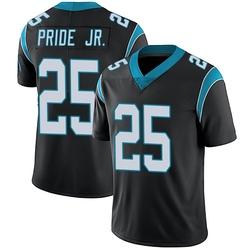Troy Pride Jr. Carolina Panthers Limited Men's Team Color Vapor Untouchable Jersey (Black)