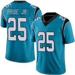 Troy Pride Jr. Carolina Panthers Limited Youth Alternate Vapor Untouchable Jersey (Blue)