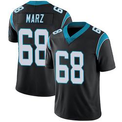Tyler Marz Carolina Panthers Limited Men's Team Color Vapor Untouchable Jersey (Black)