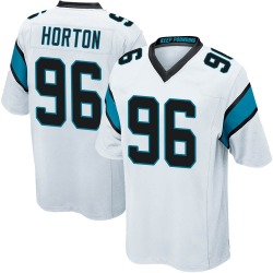 Wes Horton Carolina Panthers Game Youth Jersey (White)