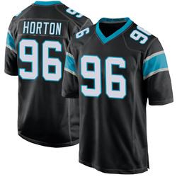 Wes Horton Carolina Panthers Game Youth Team Color Jersey (Black)