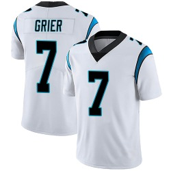 Will Grier Carolina Panthers Limited Men's Vapor Untouchable Jersey (White)