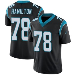 Woodrow Hamilton IV Carolina Panthers Limited Youth Team Color Vapor Untouchable Jersey (Black)