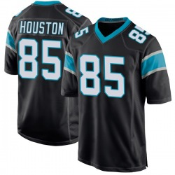 Wyatt Houston Carolina Panthers Game Youth Team Color Jersey (Black)