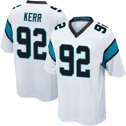 Zach Kerr Carolina Panthers Game Youth Jersey (White)