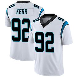 Zach Kerr Carolina Panthers Limited Men's Vapor Untouchable Jersey (White)